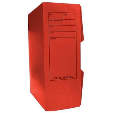 Arquivo Morto Plástico Vermelho Golden 994847