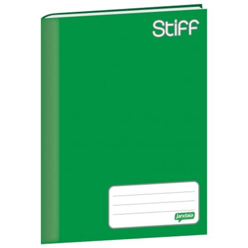 Caderno-Brochura-14-Jandaia-Stiff-96-Folhas-Capa-Dura-Verde