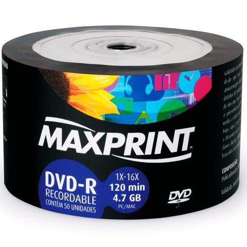 DVD-R-Maxprint-4.7gb-120min-1x-16x-50-Unidades
