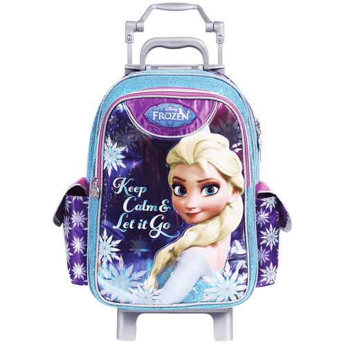 Mochila-com-Carrinho-Frozen-Elsa-Dermiwil-37107