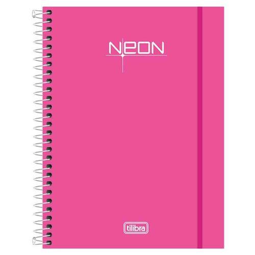Caderno-Colegial-Neon-Rosa-8-Materias-Tilibra
