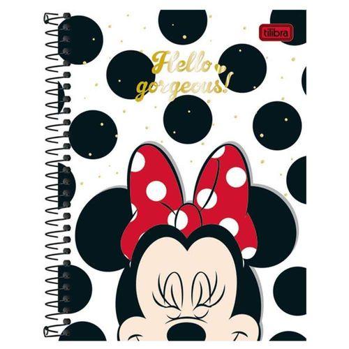 Caderno-Colegial-Minnie-8-Materias-Tilibra