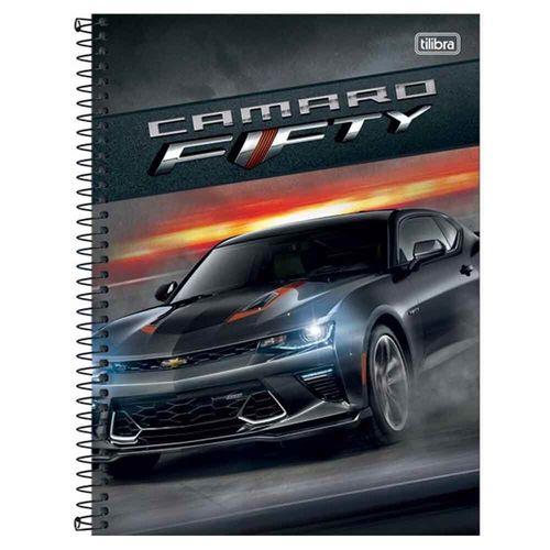 Caderno-Universitario-Camaro-Corvette-1-Materia-Tilibra