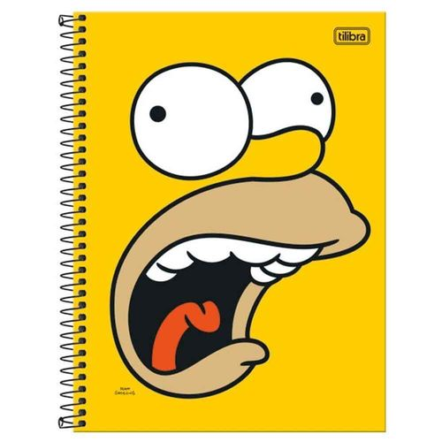 Caderno-Universitario-Simpsons-1-Materia-Tilibra