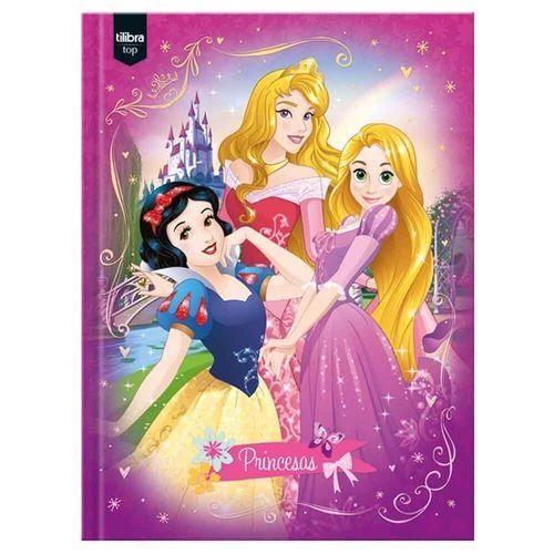 Caderno-Brochurao-Princesas-96-Folhas-Tilibra