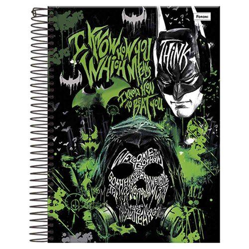 Caderno-Universitario-Batman-Arkham-Knight-10-Materias-Foroni
