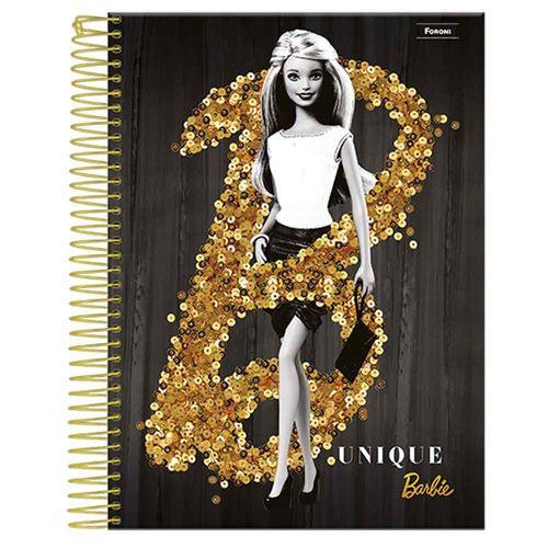 Caderno-Universitario-Barbie-Glamour-1-Materia-Foroni