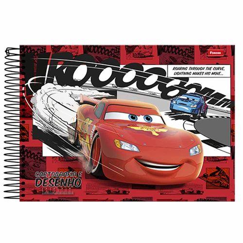 Caderno-Cartografia-e-Desenho-Carros-96-Folhas-Foroni