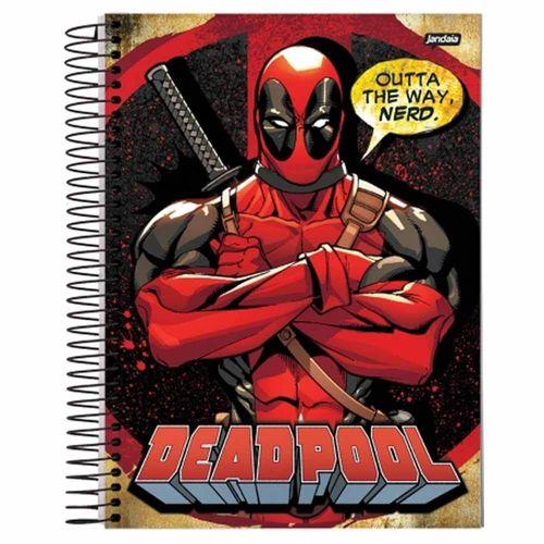 Caderno-Universitario-Deadpool-15-Materias-Jandaia