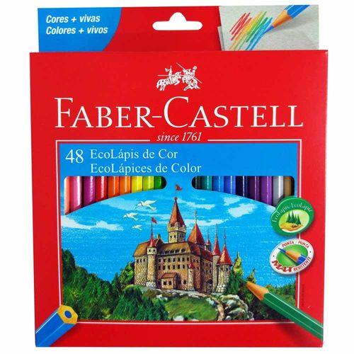 Lapis-De-Cor-48-Cores-Linha-Vermelha-Faber-Castell