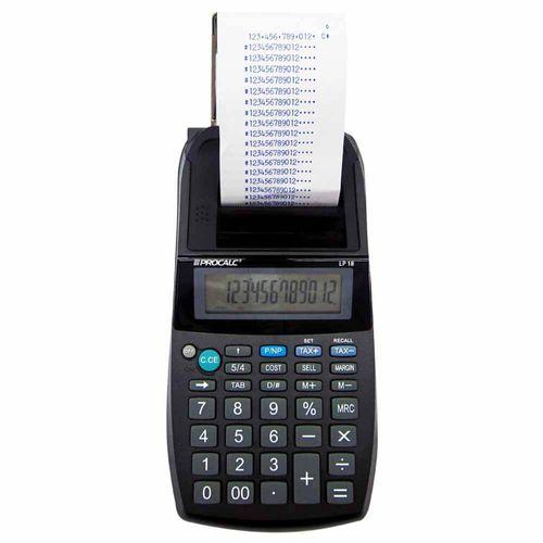 Calculadora-de-Impressao-Procalc-LP18-12-Digitos