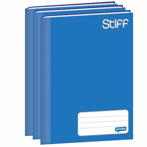 Caderno-Brochura-14-Jandaia-Stiff-48-Folhas-Azul-10-Unidades
