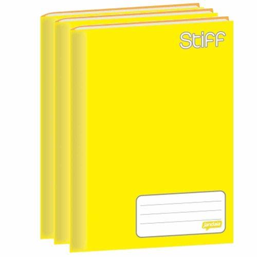 Caderno-Brochurao-Jandaia-Stiff-48-Folhas-Amarelo-10-Unidades