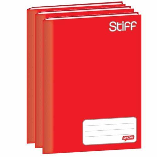 Caderno-Brochurao-Jandaia-Stiff-48-Folhas-Vermelho-10-Unidades