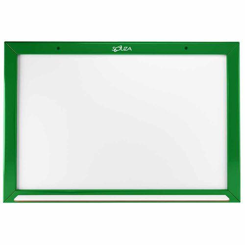 Quadro-Branco-Standard-Madeira-40x60cm-Souza-Verde