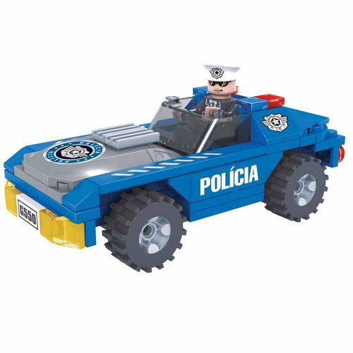 Blocos-de-Montar-Click-it-Carro-Policial-98-Pecas-Play-Cis