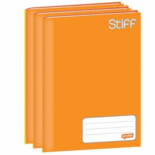 Caderno-Brochurao-Jandaia-Stiff-96-Folhas-Laranja-5-Unidades
