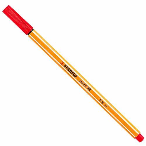 Caneta-Stabilo-Point-8840-Fine-0.4-Vermelha