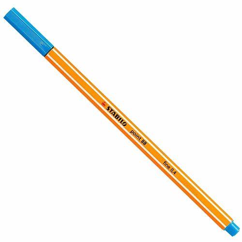 Caneta-Stabilo-Point-88-51-Fine-0.4-Azul-Turquesa