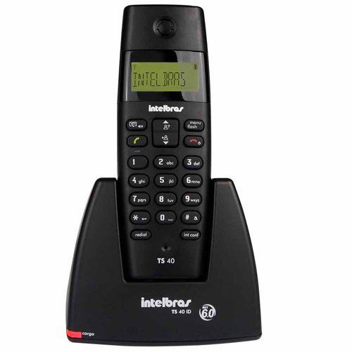 Telefone-Sem-Fio-Com-Identificador-De-Chamadas-Intelbras-Ts-40