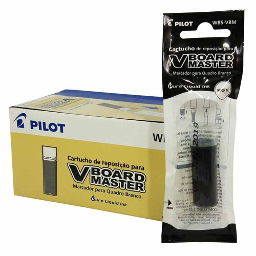 Refil-para-Pincel-Pilot-Board-Master-Preto-12-Unidades