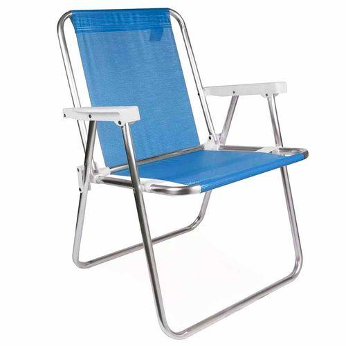 Cadeira-de-Praia-Aluminio-Alta-Mor-Sannet-Azul
