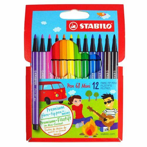 Caneta-Stabilo-Pen-68-Mini-1.0mm-12-Unidades