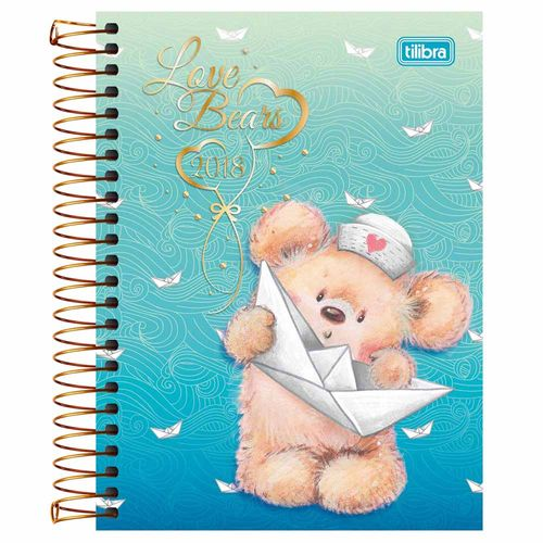 Agenda-2018-Tilibra-Love-Bears
