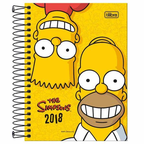 Agenda-2018-Tilibra-Simpsons-Amarela