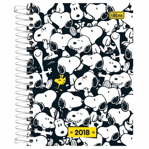 Agenda-2018-Tilibra-Snoopy-Preta