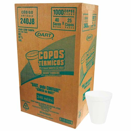 Copo-Termico-de-Isopor-240ml-Dart-1000-Unidades