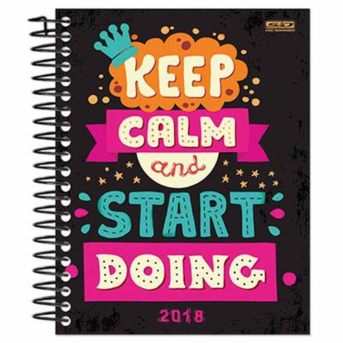 Agenda-2018-Sao-Domingos-Keep-Calm-Preta