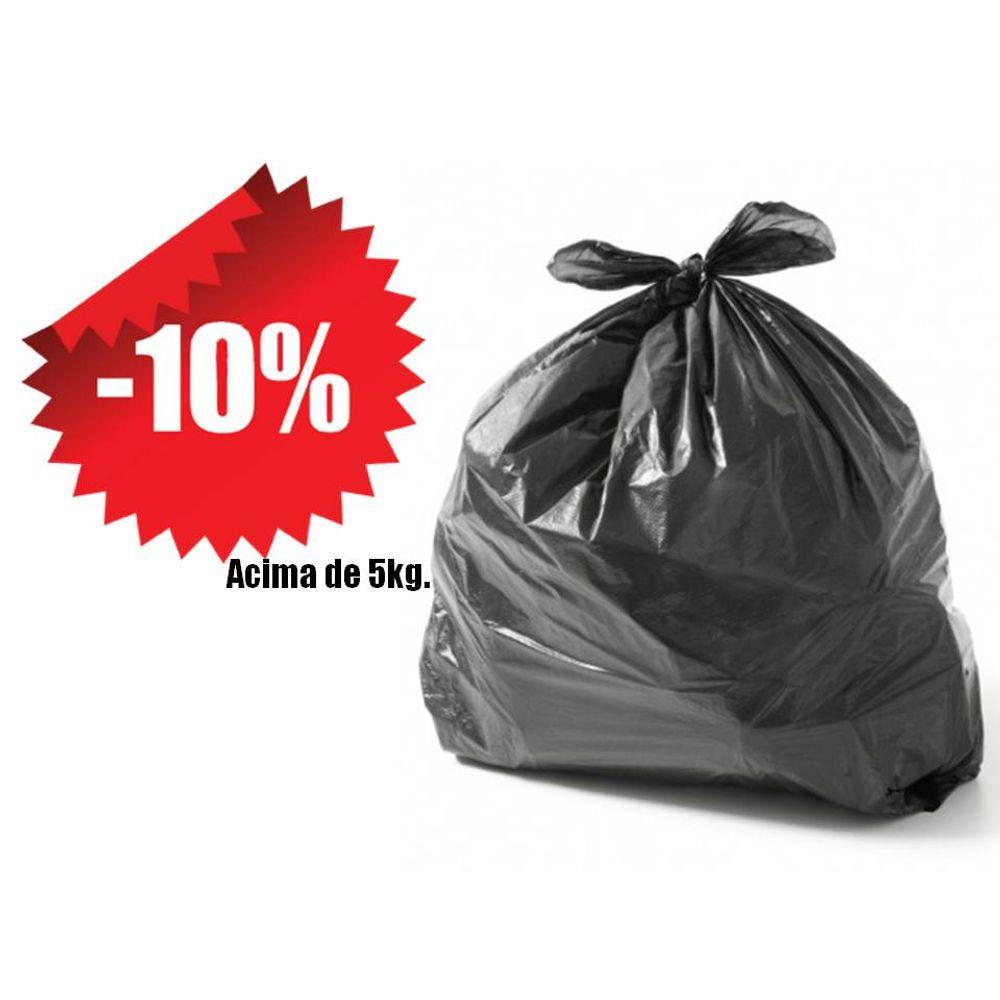 ba196ae65 Saco De Lixo Reforçado Preto 100 Litros Kg - costaatacado