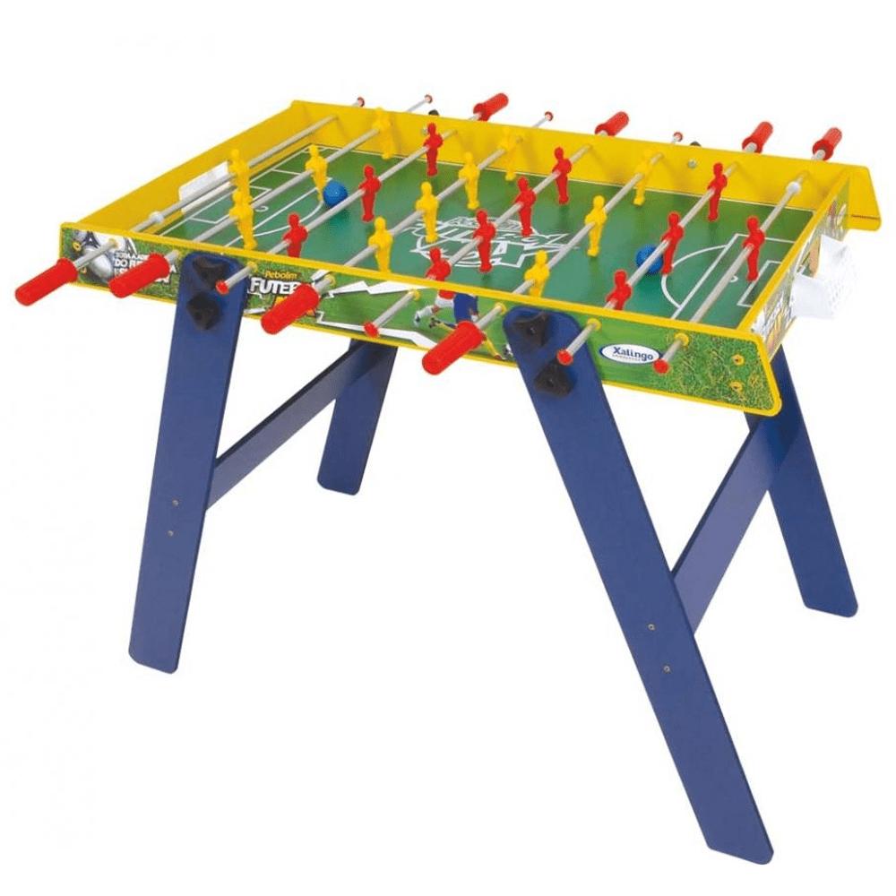 Mesa de Pebolim Futebol Max 6706-5 - Xalingo - costaatacado afa0c289821e3