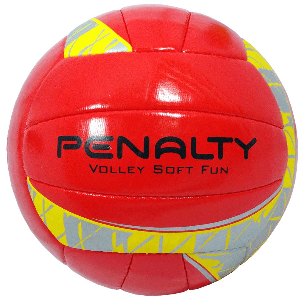 Bola de Vôlei Soft Fun Penalty Vermelho e Amarelo - costaatacado 80fa75c16d2f1