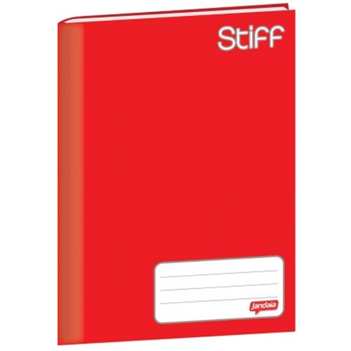Caderno-Brochurao-Jandaia-Stiff-48-Folhas-Capa-Dura-Vermelho