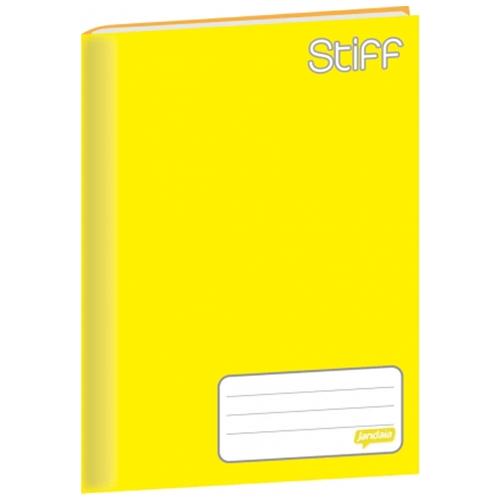 Caderno-Brochura-14-Jandaia-Stiff-96-Folhas-Capa-Dura-Amarelo