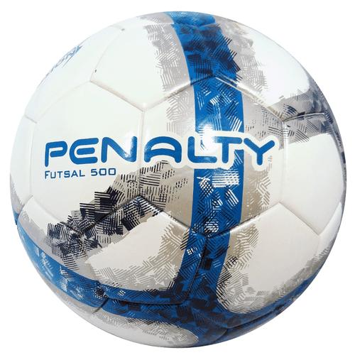 Bola-de-Futsal-Penalty-Oficial-500-Ultra-Fusion-Azul-e-Branca