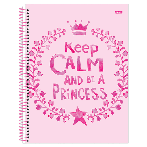 Caderno-Universitario-Keep-Calm-Girl-15-Materias-Sao-Domingos