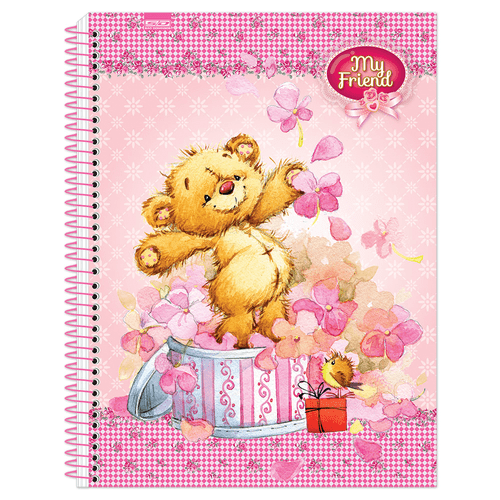 Caderno-Universitario-My-Friend-15-Materias-Sao-Domingos