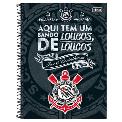 Caderno-Universitario-Corinthians-10-Materias-Tilibra