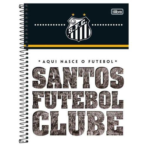 Caderno-Universitario-Santos-10-Materias-Tilibra