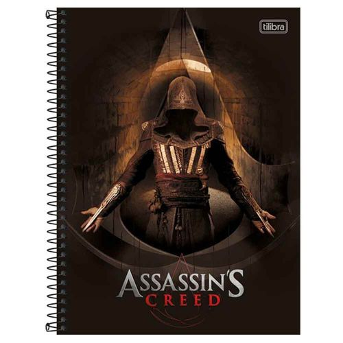 Caderno-Universitario-Assassins-Creed-10-Materias-Tilibra