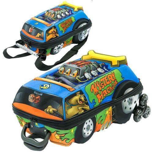 Mochila-com-Carrinho-3D-Scooby-Doo-Lancheira-Maxtoy
