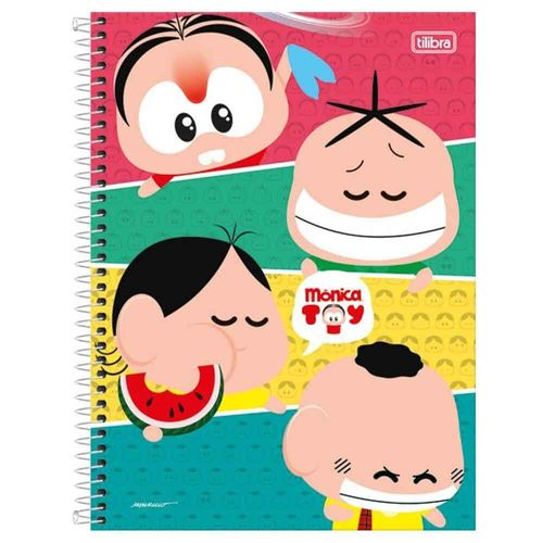 Caderno-Universitario-Monica-Toy-1-Materia-Tilibra