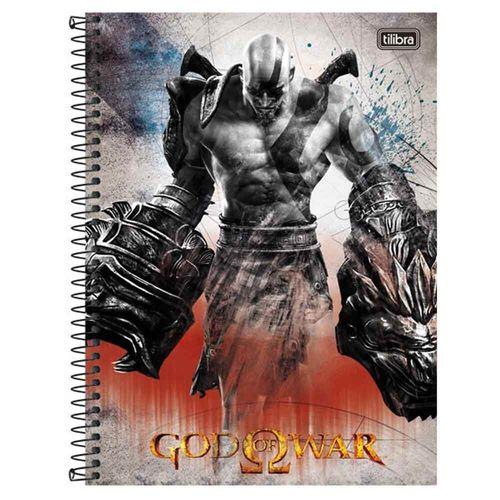 Caderno-Universitario-God-of-War-1-Materia-Tilibra