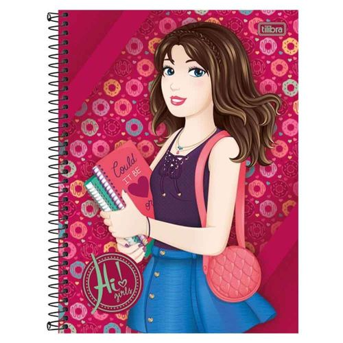 Caderno-Universitario-Hi-Girls-1-Materia-Tilibra