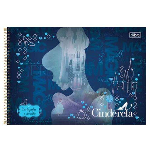 Caderno-Cartografia-e-Desenho-Cinderela-96-Folhas-Tilibra