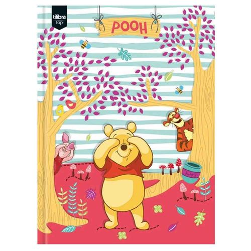 Caderno-Brochurao-Pooh-96-Folhas-Tilibra