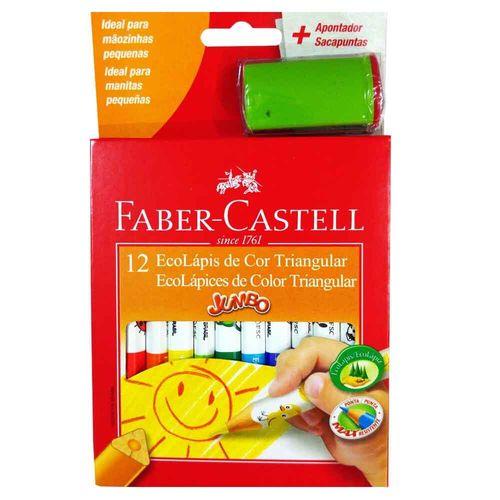 Lapis-De-Cor-12-Cores-Triangular-Jumbo-Faber-Castell